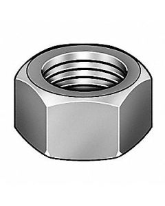 """DCE 1-1/2""""-8 Hex Nut - Heavy, Plain Finish, Grade 2H Steel, Right Hand, ASTM A194, EA1"""